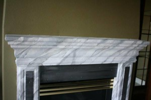 Photo #8: Faux Stone, Marble, Wood finishes for your fireplace and more
