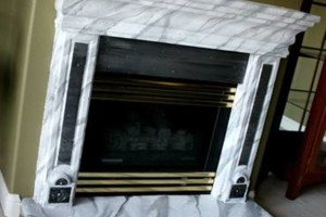 Photo #7: Faux Stone, Marble, Wood finishes for your fireplace and more