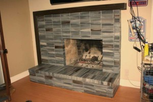 Photo #4: Faux Stone, Marble, Wood finishes for your fireplace and more