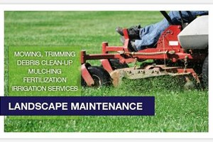 Photo #1: COMMERCIAL LANDSCAPING / LAWN CARE