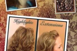 Photo #5: Hair extensions, highlights, color, makeovers