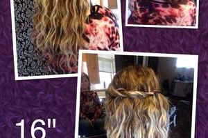 Photo #1: Hair extensions, highlights, color, makeovers