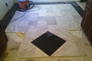 Photo #3: TILE INSTALLATION. GROUT RE-PLACEMENT. TILE REPAIR. SEALING