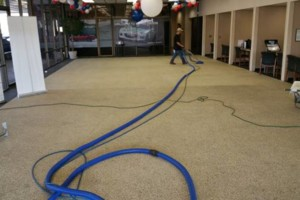 Photo #2: Aggragate floor cleaning