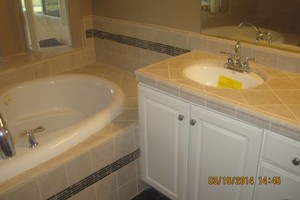 Photo #2: TILE INSTALLATIONS. Professional & Affordable