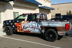 Photo #1: Vehicle Wraps full or partial. Full color design