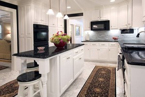 Photo #13: Granite counter tops, Custom cabinets, Kitchen & Bath remolding