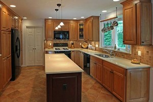 Photo #12: Granite counter tops, Custom cabinets, Kitchen & Bath remolding
