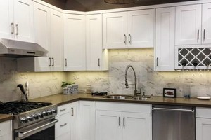 Photo #7: Granite counter tops, Custom cabinets, Kitchen & Bath remolding