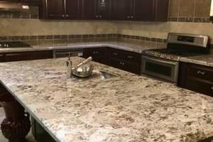 Photo #1: Granite counter tops, Custom cabinets, Kitchen & Bath remolding