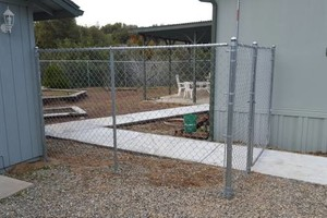 Photo #2: Chainlink Fence Installation. Building & Repair