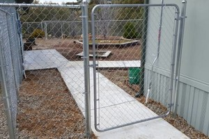 Photo #1: Chainlink Fence Installation. Building & Repair