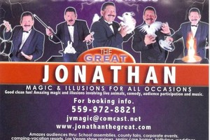 Photo #5: The Great Jonathan And Company. Magician I'llusionist