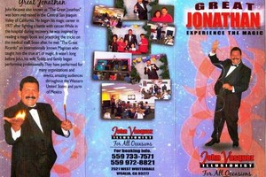 Photo #2: The Great Jonathan And Company. Magician I'llusionist