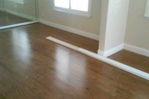 Photo #2: Laminate, Engineered wood, vinyl plank installation