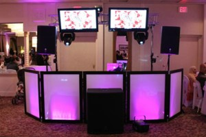 Photo #3: DJ Set-Up For Rent: Lights, Speakers, Uplighting, Fog Machine, Tables