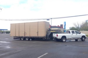Photo #7: Trailer hauling transport moving