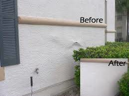 Photo #14: $250 stucco repair, redash, acoustic removal, paint