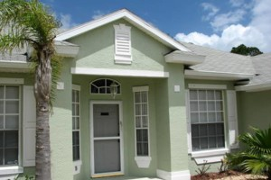 Photo #11: $250 stucco repair, redash, acoustic removal, paint