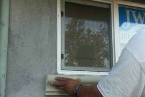 Photo #10: $250 stucco repair, redash, acoustic removal, paint