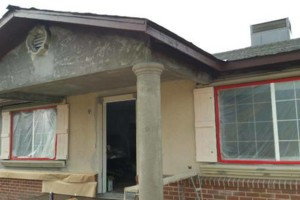 Photo #9: $250 stucco repair, redash, acoustic removal, paint