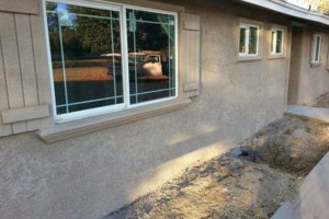 Photo #6: $250 stucco repair, redash, acoustic removal, paint