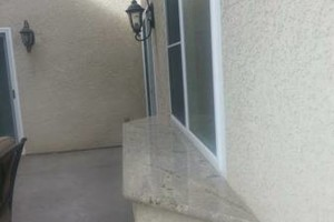 Photo #5: $250 stucco repair, redash, acoustic removal, paint