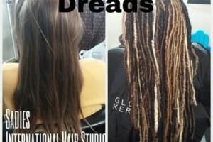 Photo #2: Sadies International hair studio. Dreads- Dreadlock Specialist