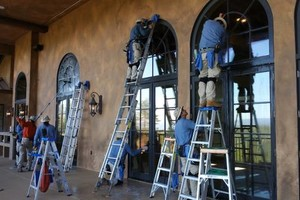 Photo #18: Central Valley Window & Rain Gutter Cleaning. Spring Sale!
