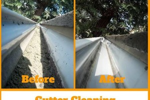 Photo #13: Central Valley Window & Rain Gutter Cleaning. Spring Sale!