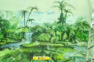 Photo #2: Murals airbrushed or hand painted