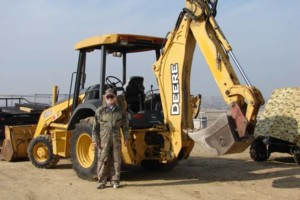 Photo #1: BACKHOE w/OPERATOR discing, trenching, and mowing work