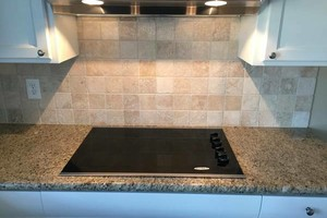 Photo #2: Need tile work?! Showers/ Floors/ Back splashes