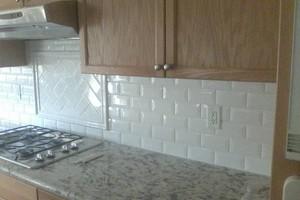Photo #5: Need tile work?! Showers/ Floors/ Back splashes