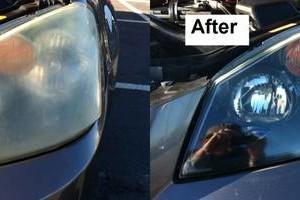 Photo #3: Window tint, head light restoration, ect