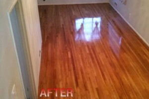 Photo #1: HARDWOOD FLOORS REFINISHED