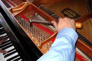 Photo #1: Piano Tuner. VOICING,  ADJUSTMENTS AND REPAIRS.