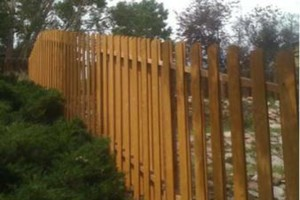 Photo #17: Higher Grounds Irrigation.  Fence repairs/Spring activations