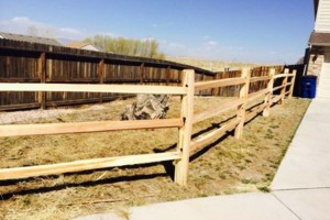 Photo #12: Higher Grounds Irrigation.  Fence repairs/Spring activations