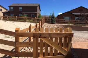 Photo #9: Higher Grounds Irrigation.  Fence repairs/Spring activations