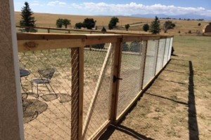 Photo #5: Higher Grounds Irrigation.  Fence repairs/Spring activations