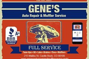 Photo #1: Gene's Auto Repair & Muffler Service