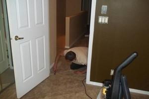 Photo #4: Dale's Carpet - install carpet, linoleum, and ceramic tile