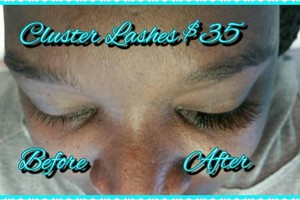 Photo #8: INDIVIDUAL CLUSTER LASHES. Envy Beauty Studio