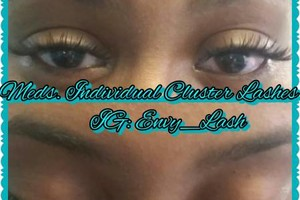 Photo #3: INDIVIDUAL CLUSTER LASHES. Envy Beauty Studio