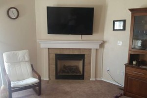 Photo #1: FLATSCREEN TV MOUNTING