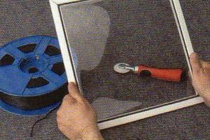 Photo #1: MOBILE WINDOW SCREEN SERVICE