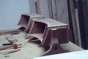 Photo #1: Custom Woodworking Artistic. Wood Designs