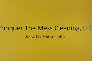 Photo #1: Conquer The Mess Cleaning, LLC .