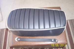 Photo #5: Cycle and Scooter Seat Reupholstery